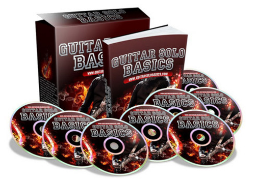 Product picture Guitar Solo Basics Video PLR